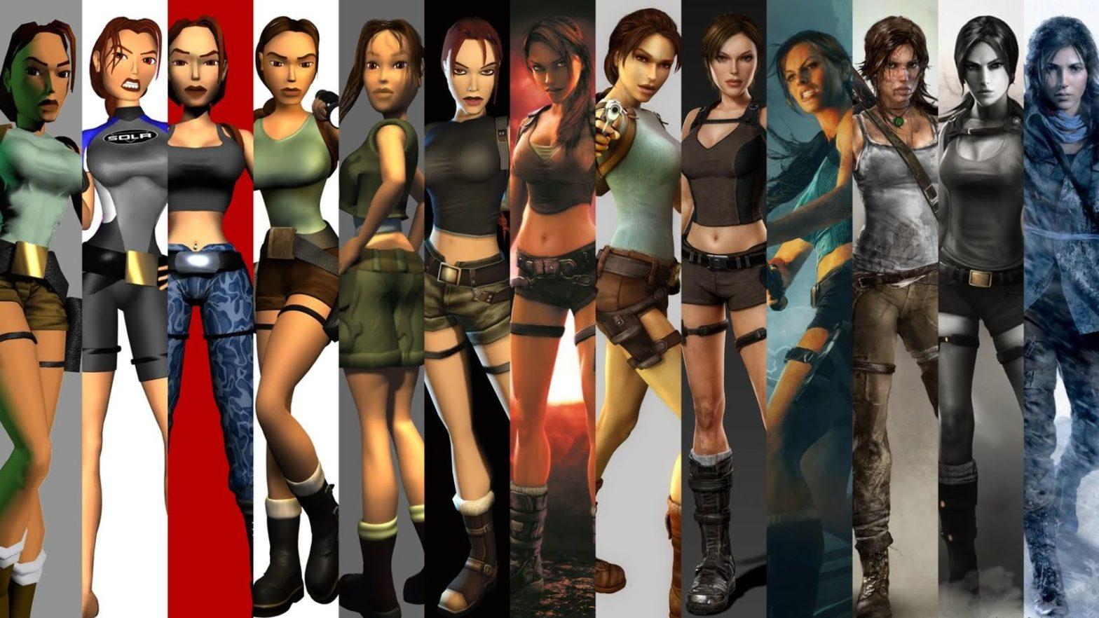 Žmogiškesnė Lara Croft