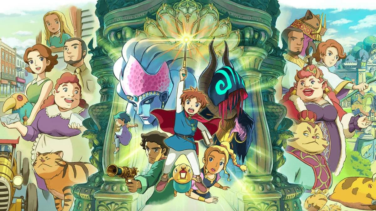 Ni no Kuni: Wrath of the White Witch Remastered atkeliauja į šios kartos konsoles