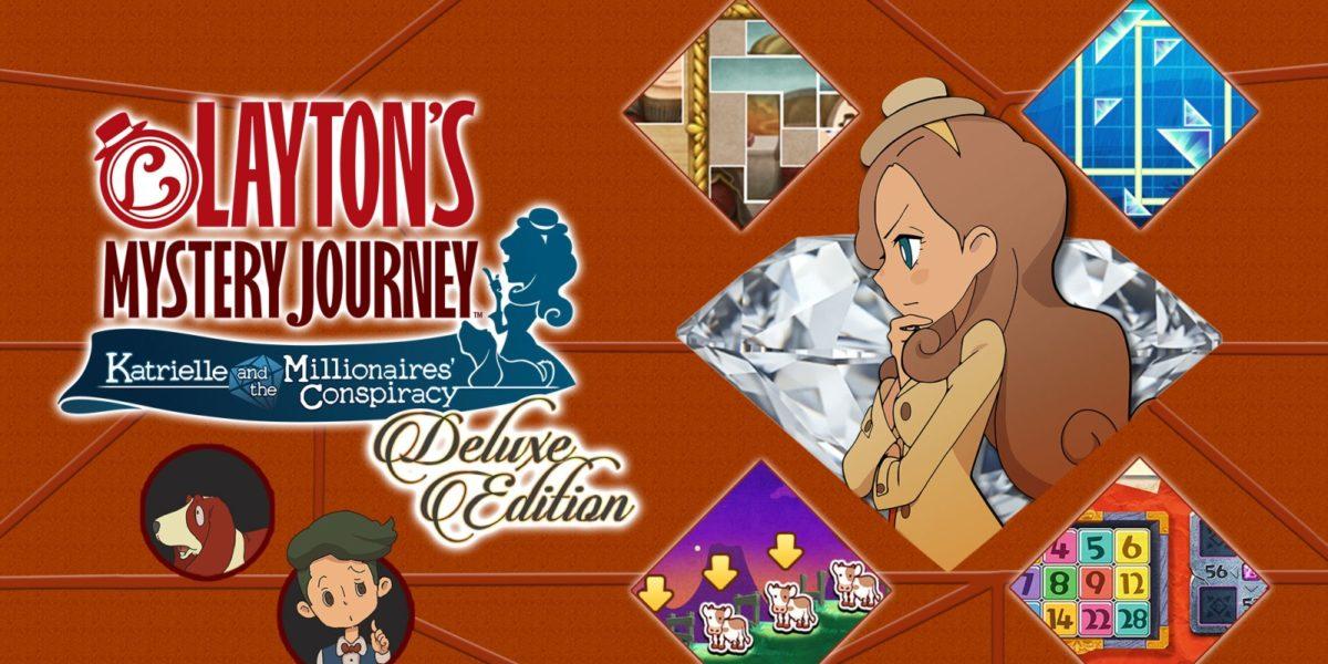 Layton's Mystery Journey žaidimas pasirodys Nintendo Switch