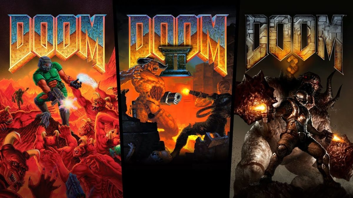 Bethesda perleido Doom trilogija moderniems įrenginiams
